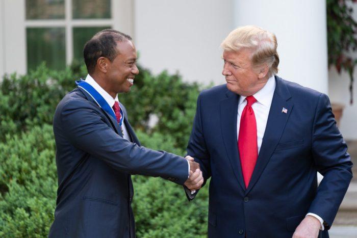Američki predsjednik Trump odlikovao Tiger Woodsa Predsjedničkim odličjem slobode