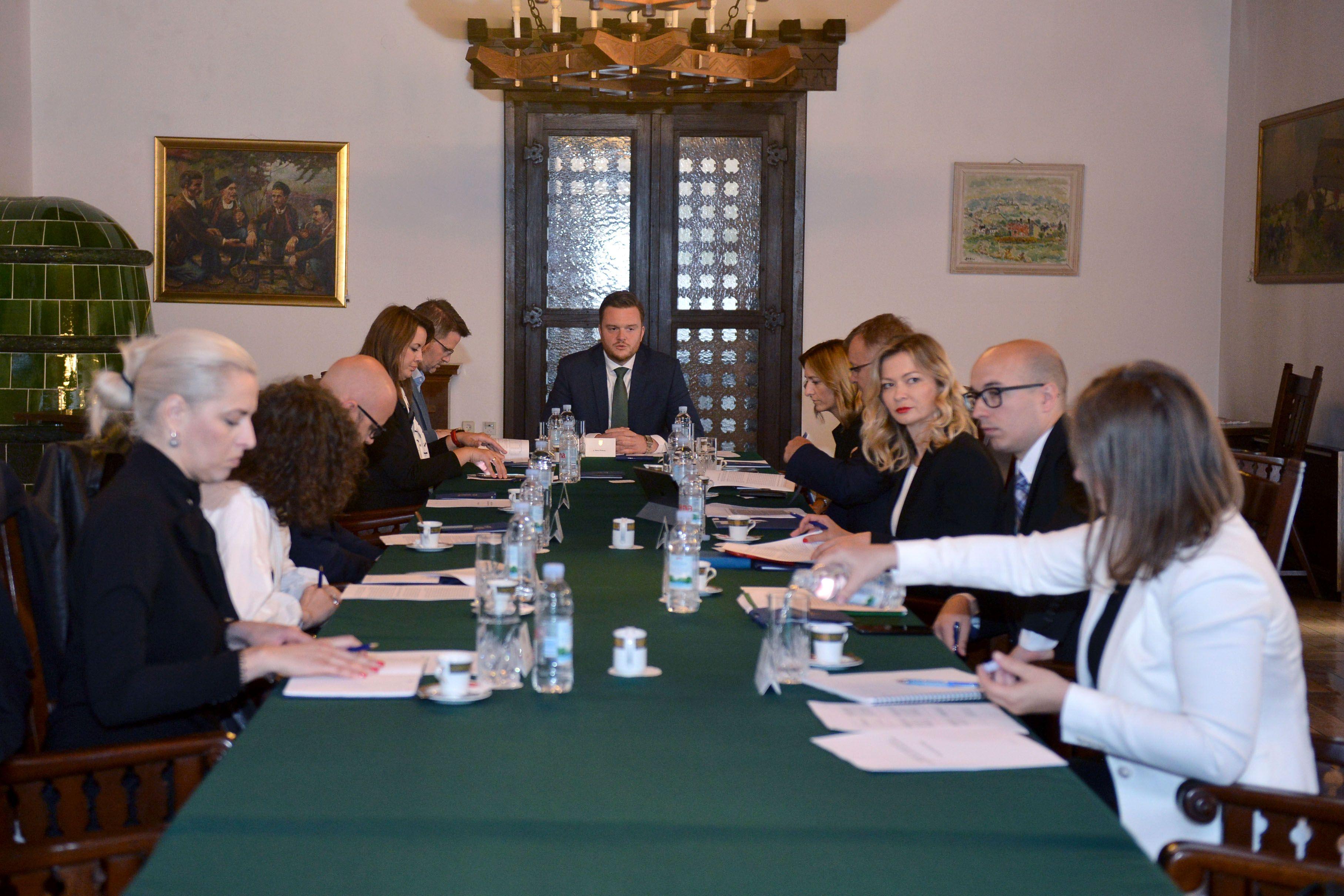 Održana druga radna sjednica Radne skupine Predsjednice Grabar-Kitarović za izradu smjernica za daljnju fiskalnu decentralizaciju i regionalni razvoj Republike Hrvatske