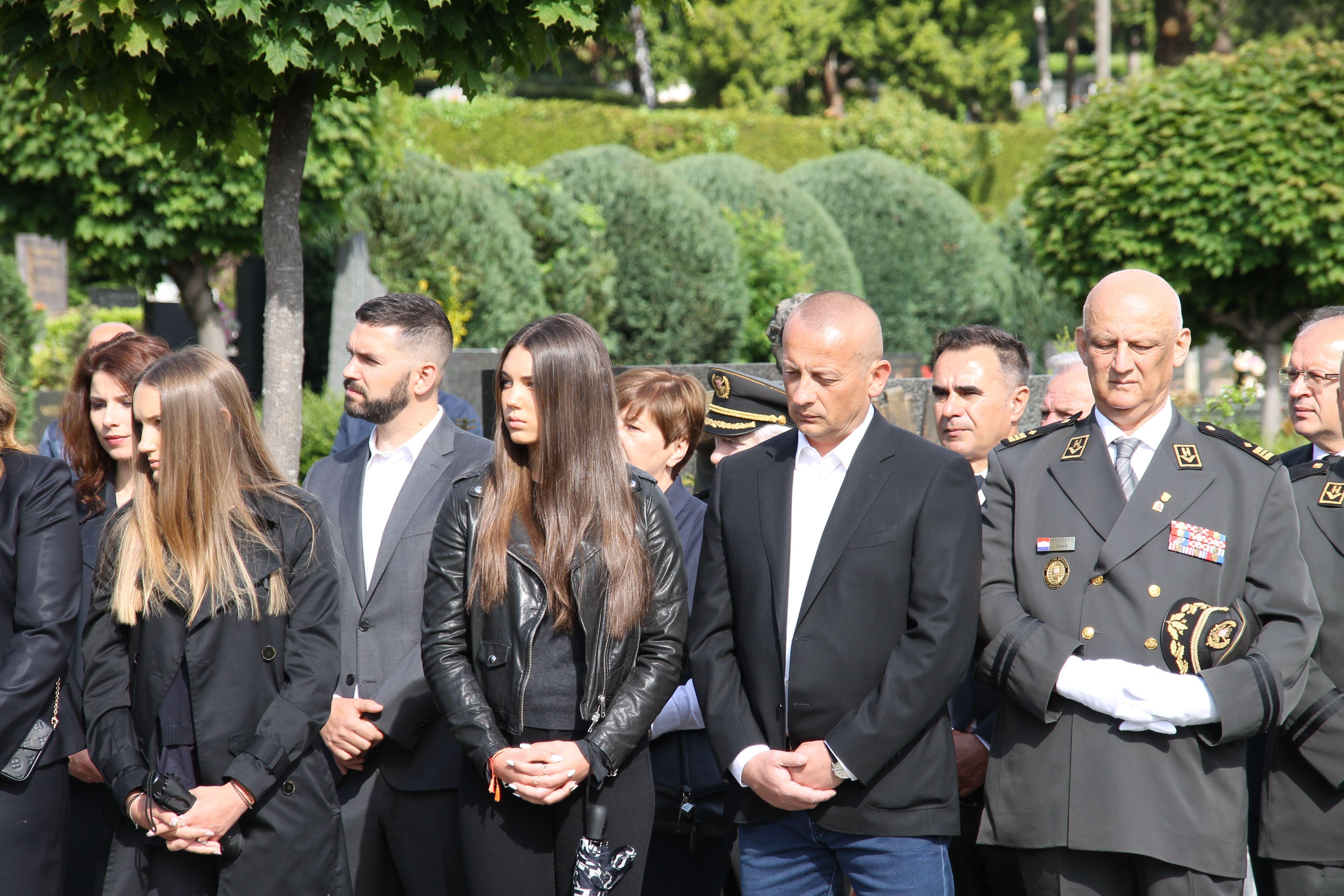 """Obilježena 21. godišnjica smrti ratnog ministra obrane Gojka Šuška -Rojs: """"Šušak je jedan od najzaslužnijih osoba za stvaranje Hrvatske"""""""