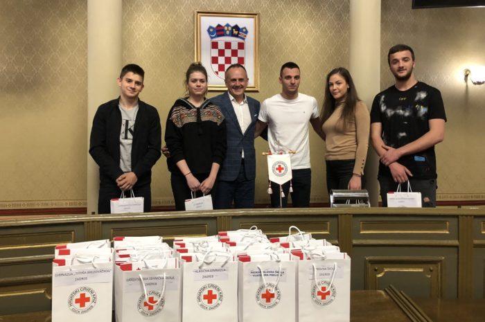 """Svečanost u povodu prvog darivanja krvi učenika zagrebačkih srednjih škola – Prgomet: """"Zahvaljujem i čestitam kako vama, tako i onima koji su od vas učinili plemenite osobe"""""""