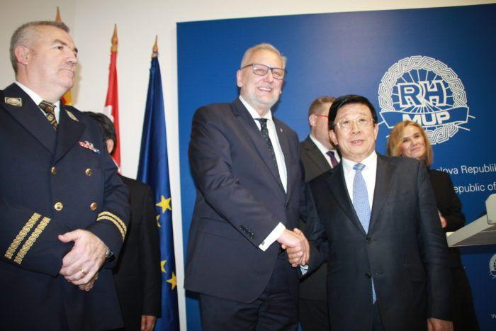"""Božinović s kineskim kolegom razgovarao o jačanju suradnje: """"Obojica smo dali visoku ocjenu suradnji na području sigurnosti i smatramo da je efikasna i plodonosna"""""""