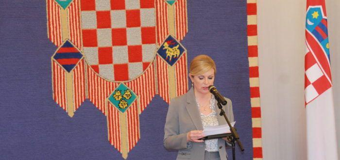 Predsjednica Grabar-Kitarović primila predstavnike Udruge Blokirani