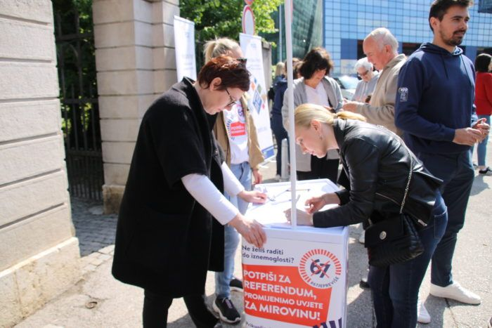 """Marijana Petir potpisala inicijativu """"67 je previše"""""""