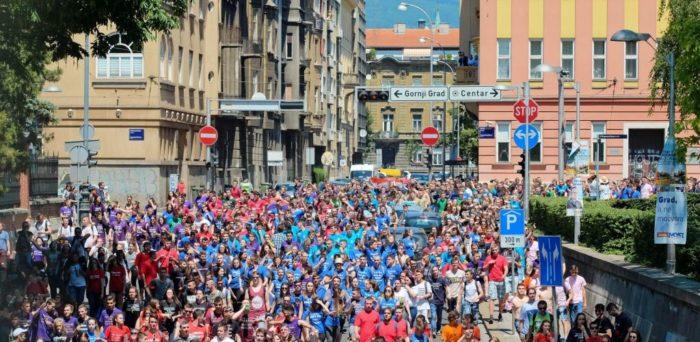 Zagrebačka policija zbog 'norijade' u srijedu zatvara promet trasom kretanja maturanata