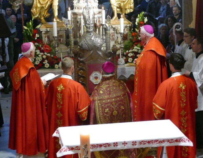 Otkriven moćnik sv. Dujma: Na dobro vam došla Sudamja!
