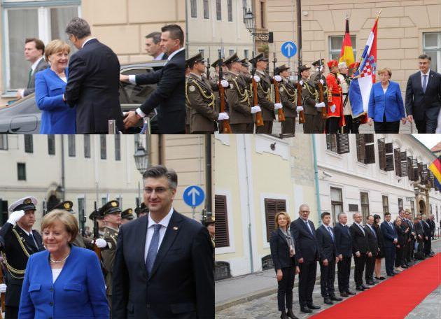 Merkel: izvjesno je pristupanje Hrvatske šengenskom prostoru i eurozoni u idućem mandatu EK