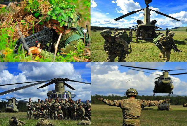 Međunarodna vojna vježba Imediate Response 19 – zračni desant američkih snaga na Slunju
