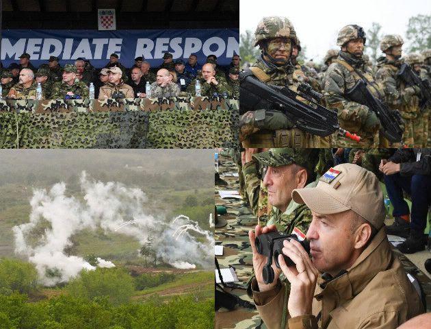 """Međunarodna vojna vježba """"Immediate Response 19"""" u Slunju – Krstičević: Demonstirana snaga zajedništva"""