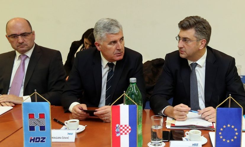 Kako će se Plenković postaviti prema Čoviću? Euroizbori u BiH protekli više nego mlako!