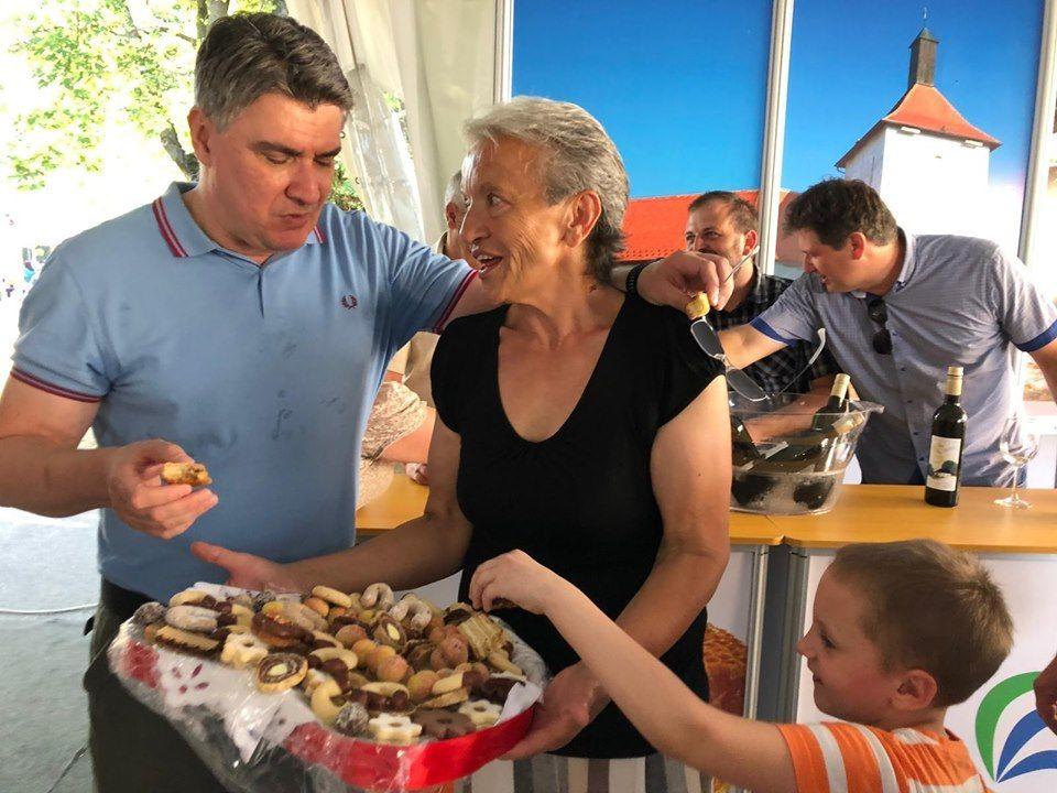 """Milanović posjetio manifestaciju Picokijada: """"Moramo paziti da ljude ne izmaltretiramo s kampanjom"""""""