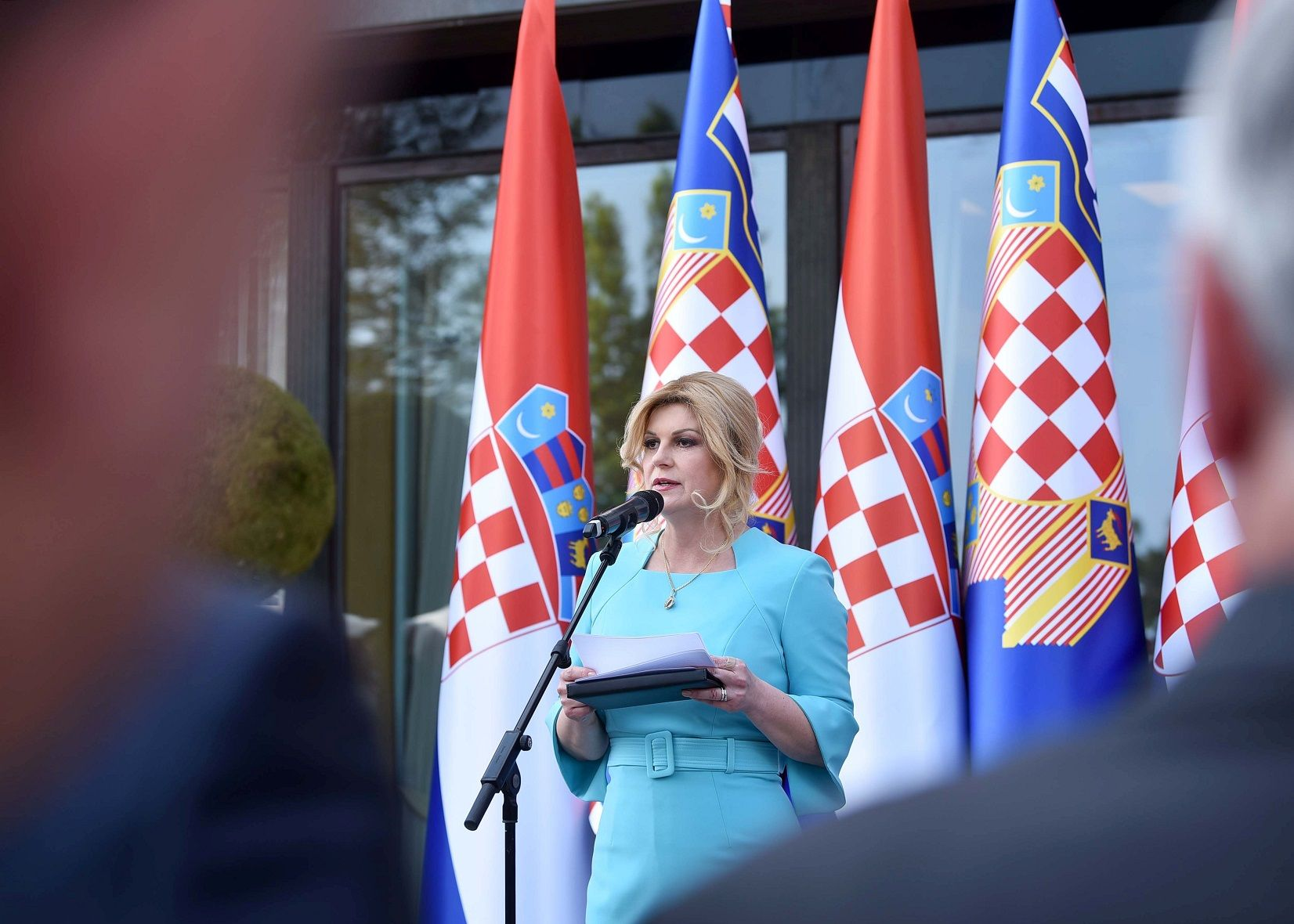 Predsjednica Grabar-Kitarović: Demografsko pitanje najveći je ispit zrelosti države