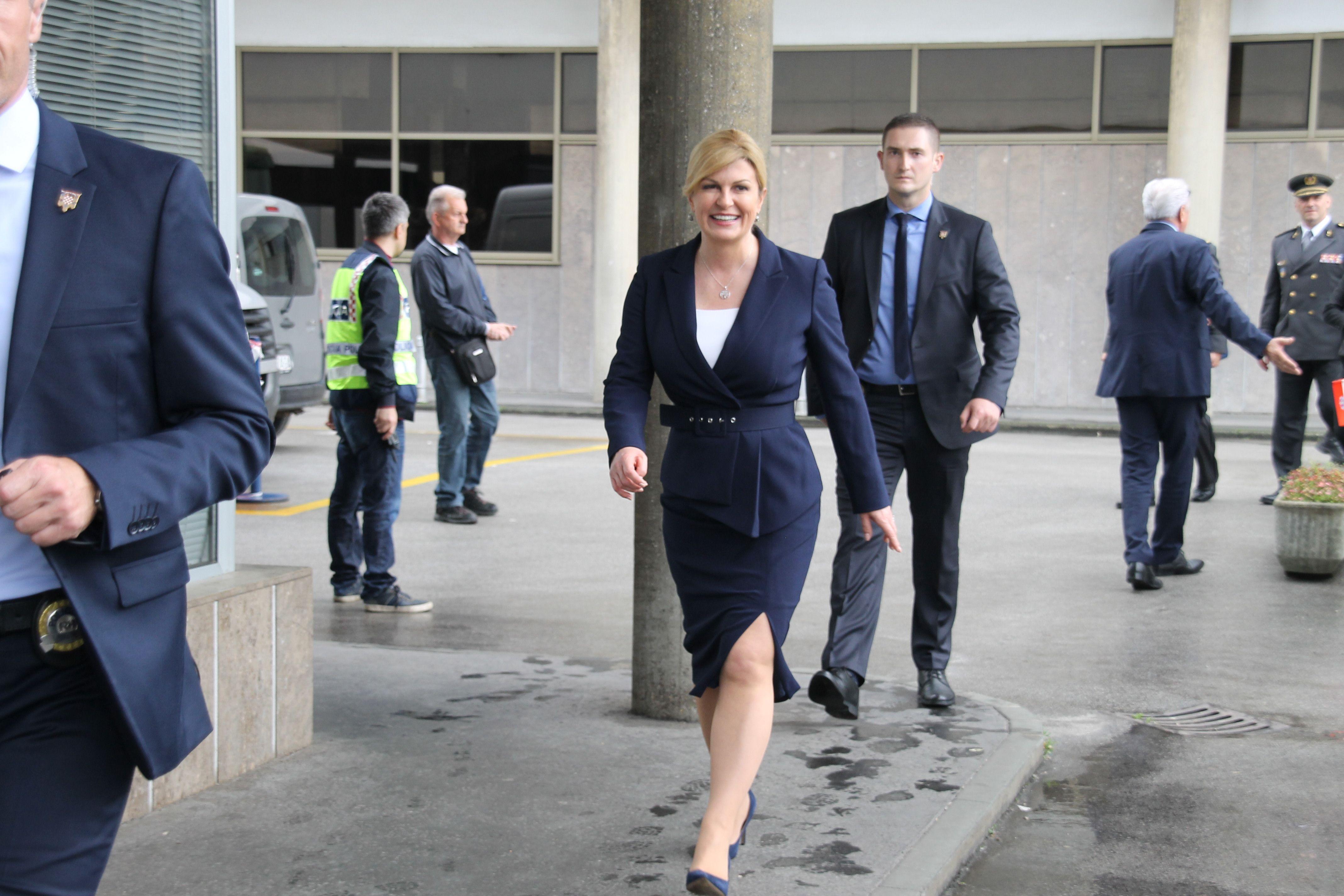 Grabar-Kitarović: Svaki kandidat na predsjedničkim izborima je ozbiljan kandidat