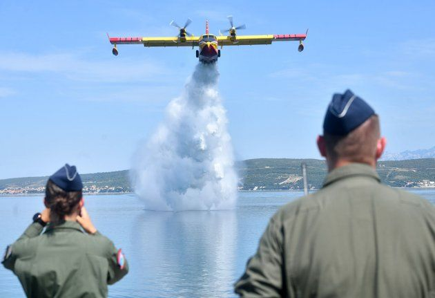 MORH: Zračne snage spremne za protupožarnu sezonu