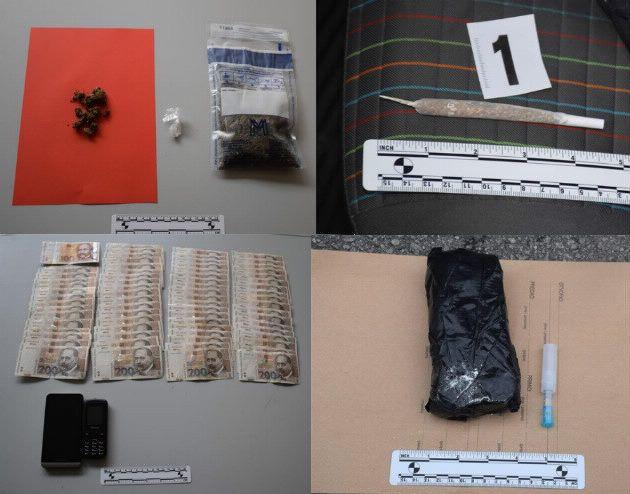 Policija pronašla drogu i improviziranu prešu kod dvoje muškaraca