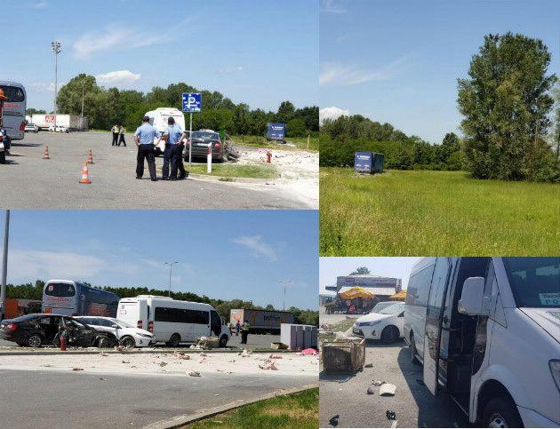 Dvoje poginulih u naletu kamiona na grupu ljudi na odmorištu autoceste kod Novske