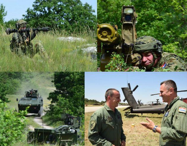 Hrvatska kopnena vojska i piloti Hrvatskog ratnog zrakoplovstva angažirani u provedbi međunarodne vojne vježbe Swift Response 19