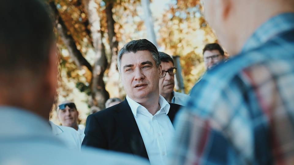"""Milanović poručio Plenkoviću da je veliki """"dedramatizator"""" i da pronađe vremena i za Hrvatsku"""