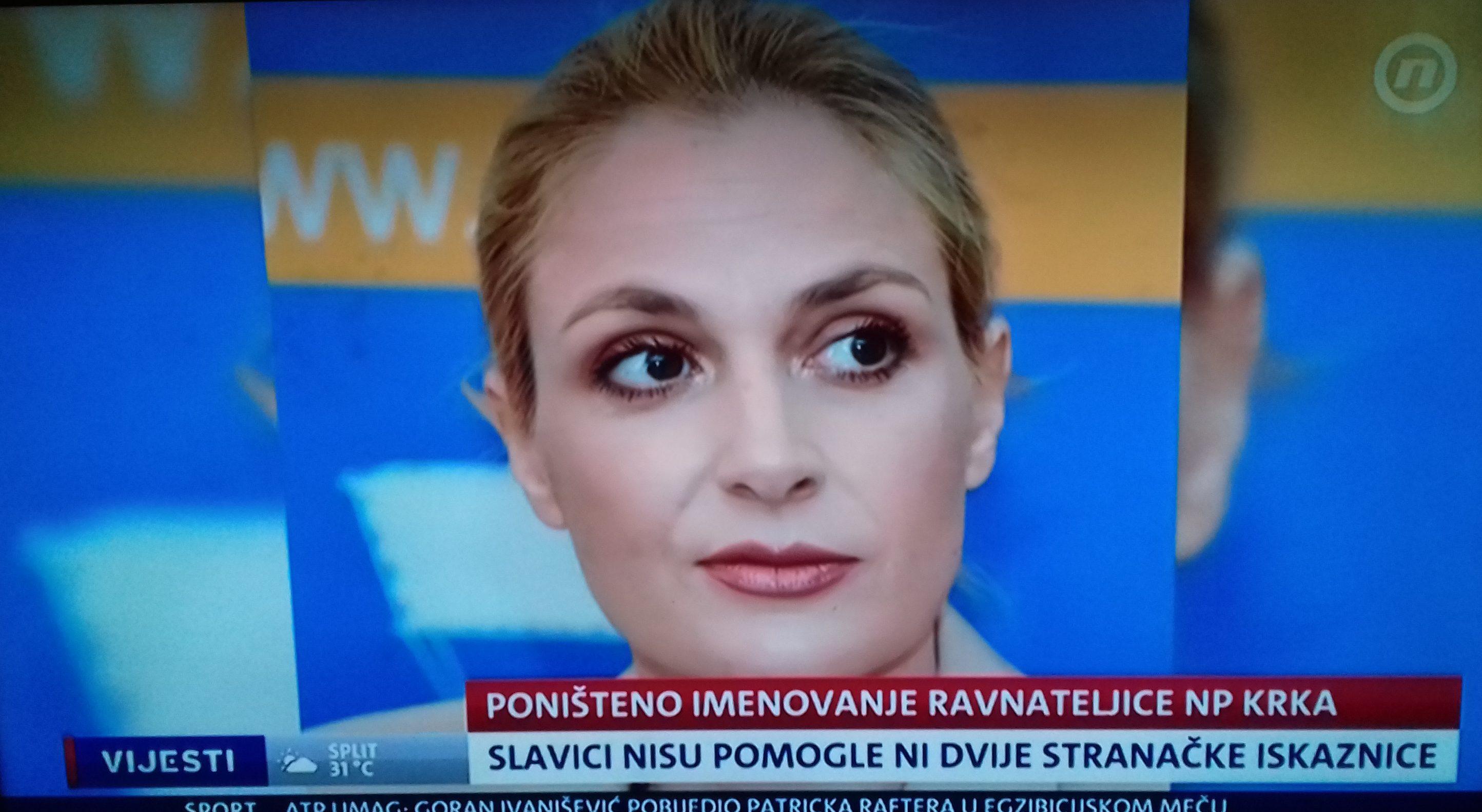 NISU JOJ POMOGLE NI DVIJE STRANAČKE ISKAZNICE: Upravni sud poništio izbor ravnateljice NP Krka Nelle Slavice