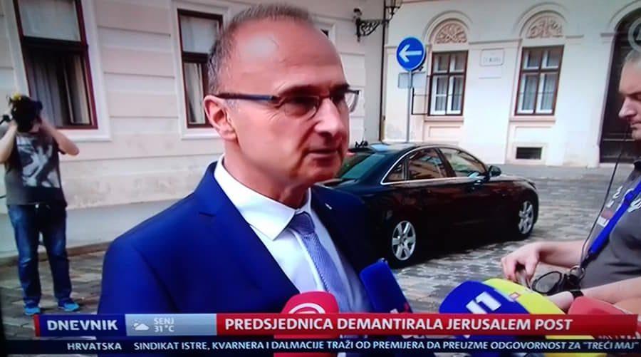 Radman o reakcijama BiH na navodnu izjavu predsjednice Grabar-Kitarović: nije uobičajeno reagirati na neprovjerene informacije