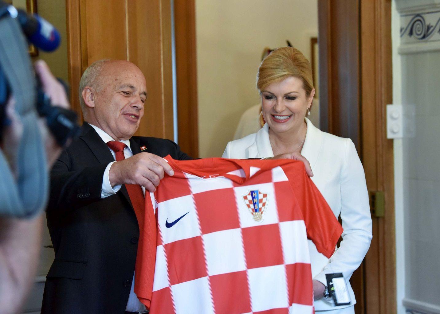 Grabar-Kitarović sa švicarskim predsjednikom razgovarala o ukidanju radnih dozvola za hrvatske radnike