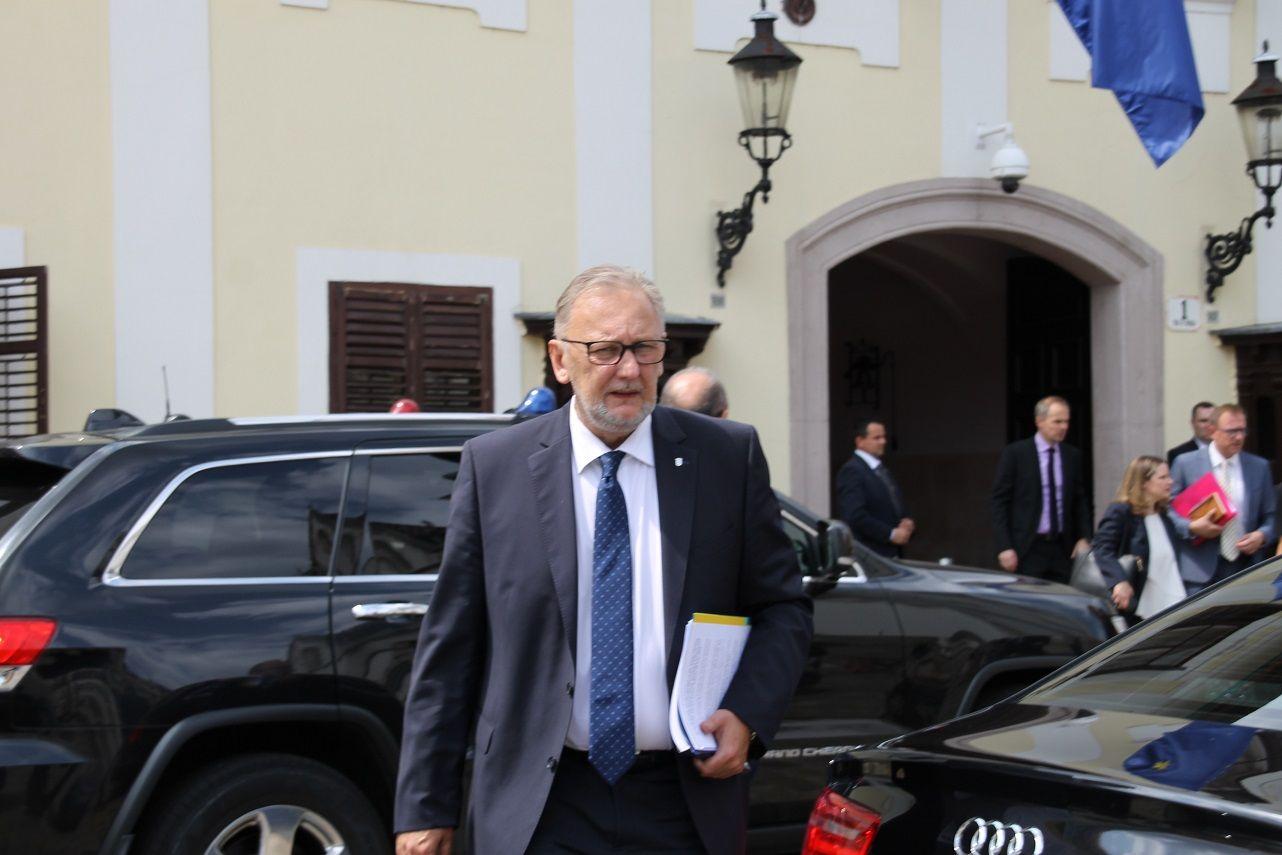 """Božinović: """"Ako je nanio štetu o načelniku općine Čeminac Zlatku Pinjuhu odlučit će tamošnji HDZ"""""""