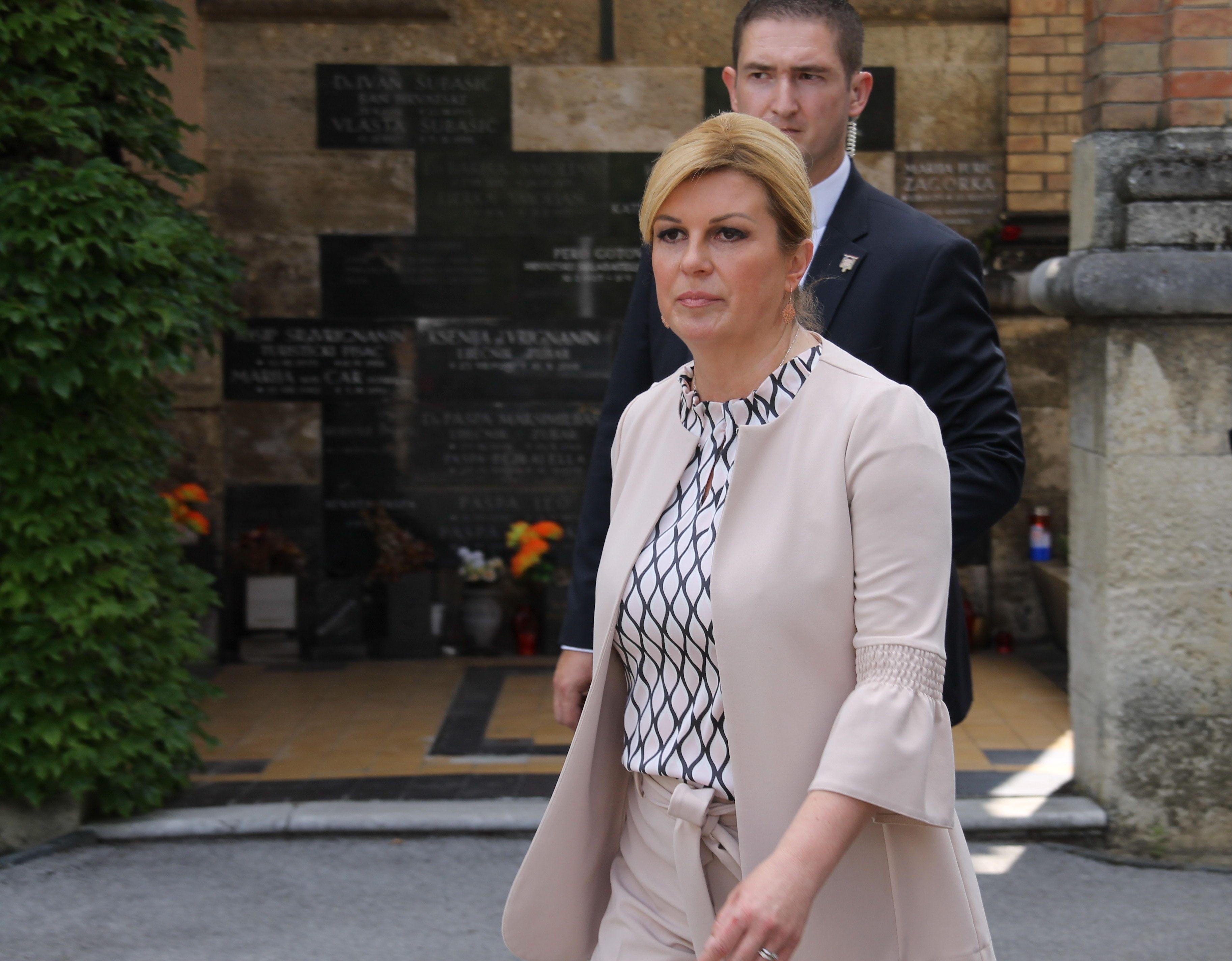 """Predsjednica Grabar-Kitarović: Dorica Nikolić je """"politiku činila plemenitim zvanjem"""""""