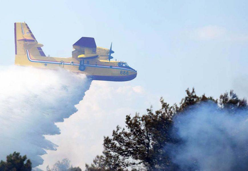 MORH: Kanader i helikopter gase požar kod Trogira