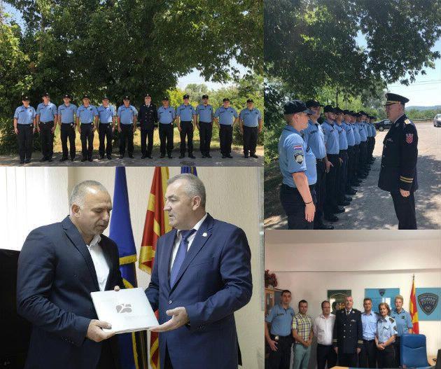 U sklopu posjete Sjevernoj Makedoniji, glavni ravnatelj policije Nikola Milina obišao kontigent hrvatskih policajaca raspoređenih na granici s Grčkom