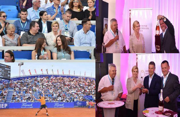 Grabar-Kitarović: I teniski turnir u Umagu pokazatelj je kako nam sport donosi goste