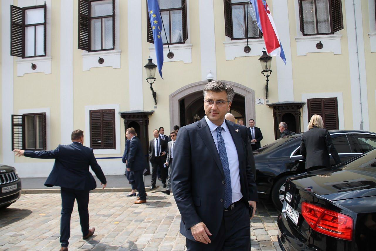 """Plenković: """"Žao mi je zbog pretjeranih reakcija iz BiH, naša politika je da razvijamo dobrosusjedske odnose i partnersku suradnju"""""""