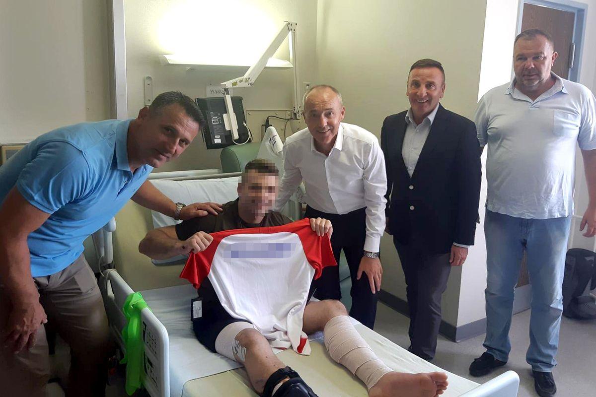 Krstičević i Šundov posjetili ozlijeđenog vojnika u terorističkom napadu u Afganistanu koji se uspješno oporavlja