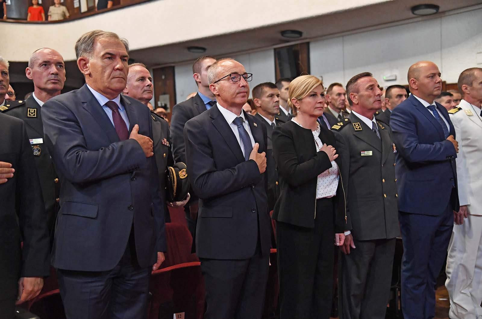 Svečana akademija povodom 24. obljetnice VRO Oluja – Grabar-Kitarović: 'Oluja' je spasila Bosnu i Hercegovinu