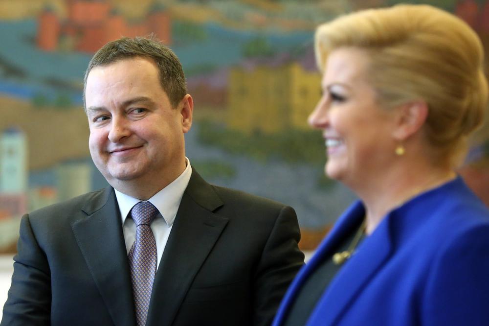 Pantovčak opovrgnuo napise o susretu predsjednice Grabar-Kitarović i srbijanskog ministra Dačića