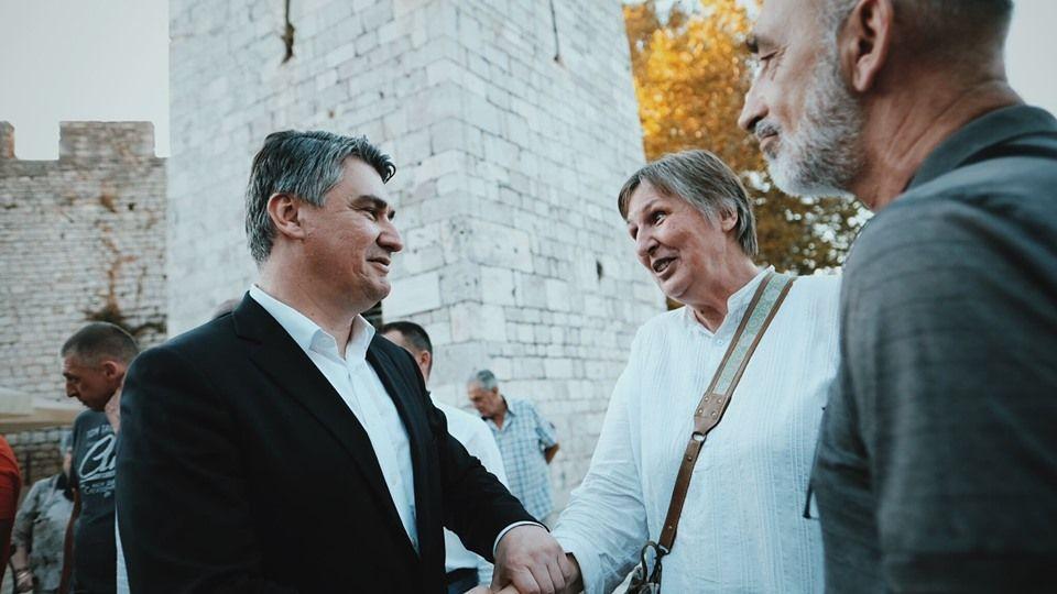 """Milanović: """"Kolinda Grabar-Kitarović nema političkog integriteta, bira loše društvo, prvo za sebe, a onda i za Hrvatsku. Došlo je vrijeme da se to dokine, prekine i tu sam"""""""