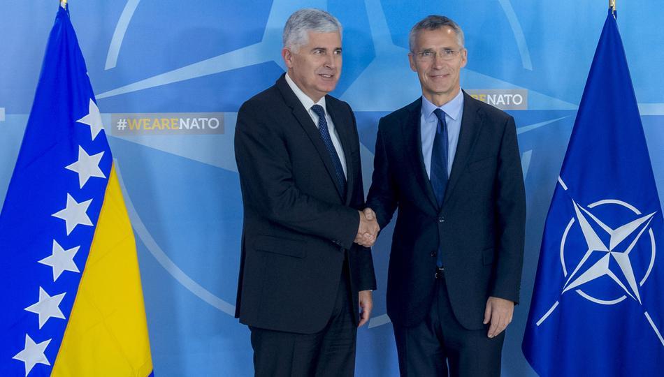 Čović nije za ulazak u NATO: Dokaz koliko je politika HDZ-a i Dragana Čovića neiskrena kada govore o europskoj i NATO perspektivi BiH