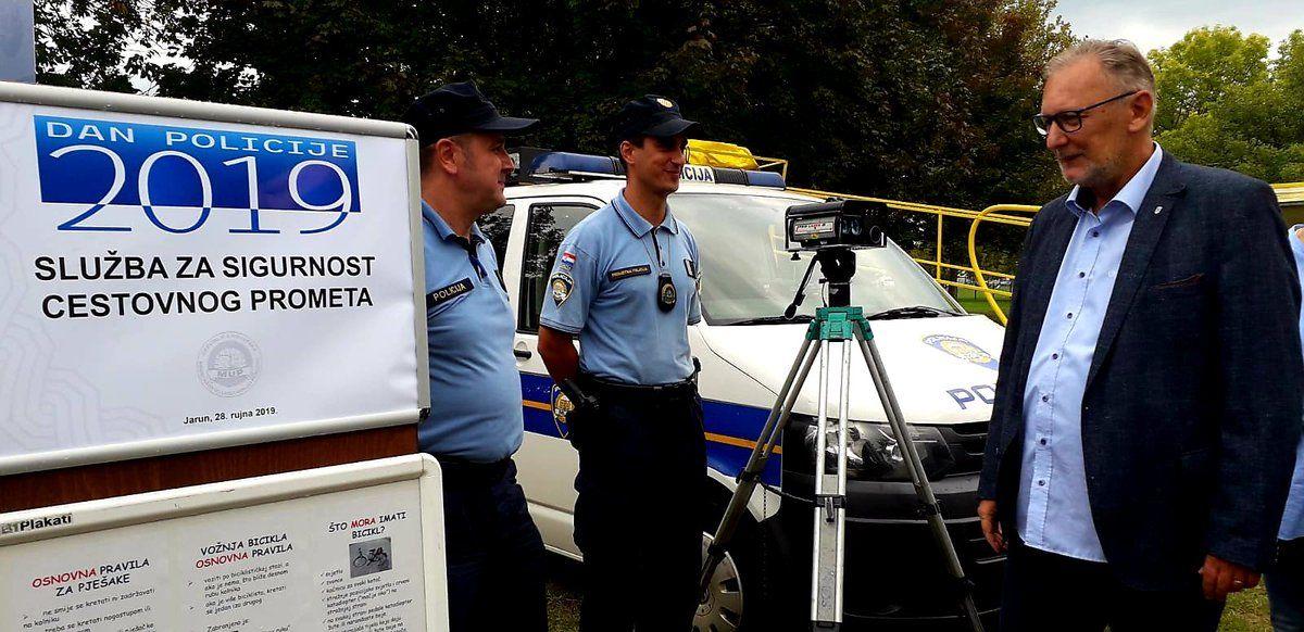 Božinović: Policajcima status koji odgovara težini posla, uskoro pregovori o dodatku Kolektivnom ugovoru