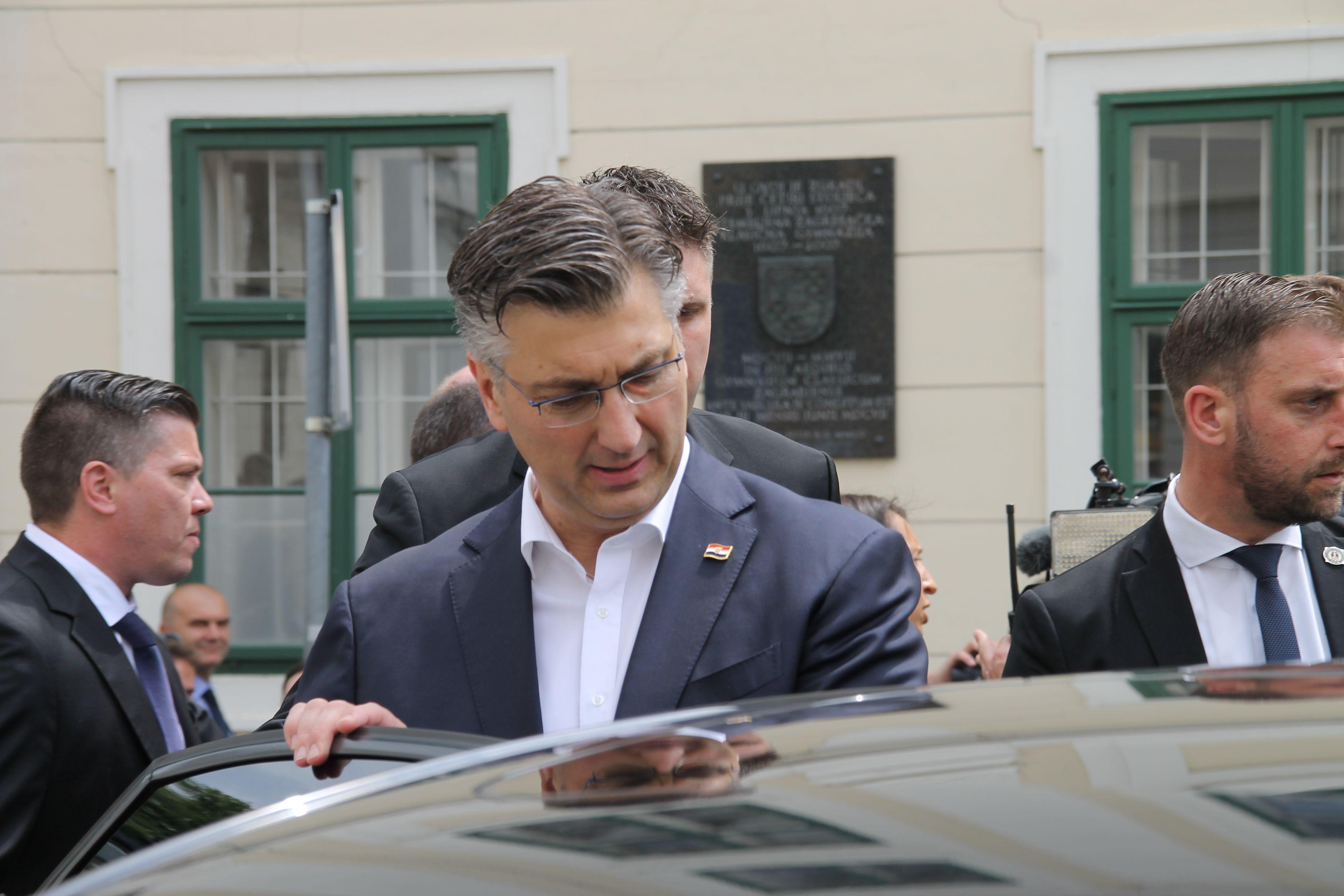 Plenković kaže da Slovenija ne može unedogled blokirati Hrvatsku