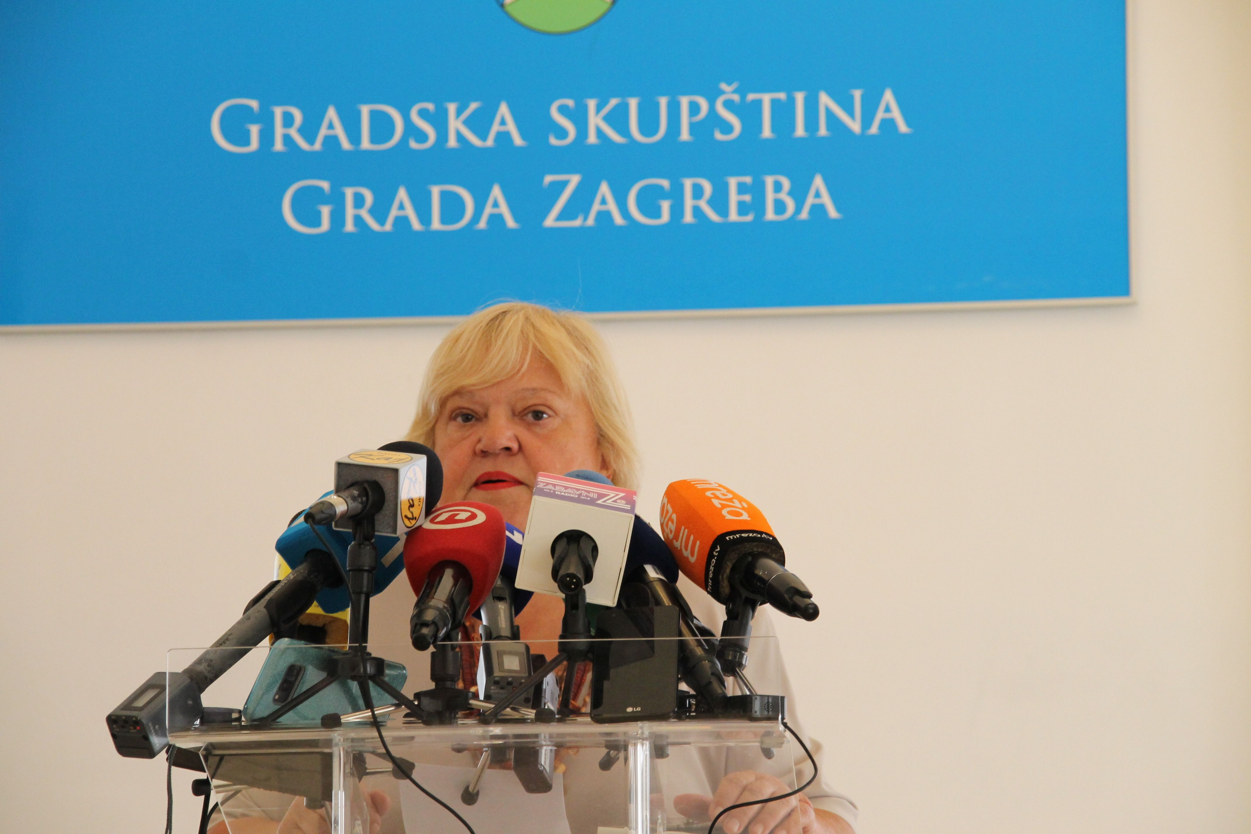 """'ZAGREBAČKI MANHATTAN' Mrak-Taritaš poručila Bandiću: """"Gradonačelniče, smirite, stanite na loptu. Nemojte dirati zelena pluća Zagreba"""""""