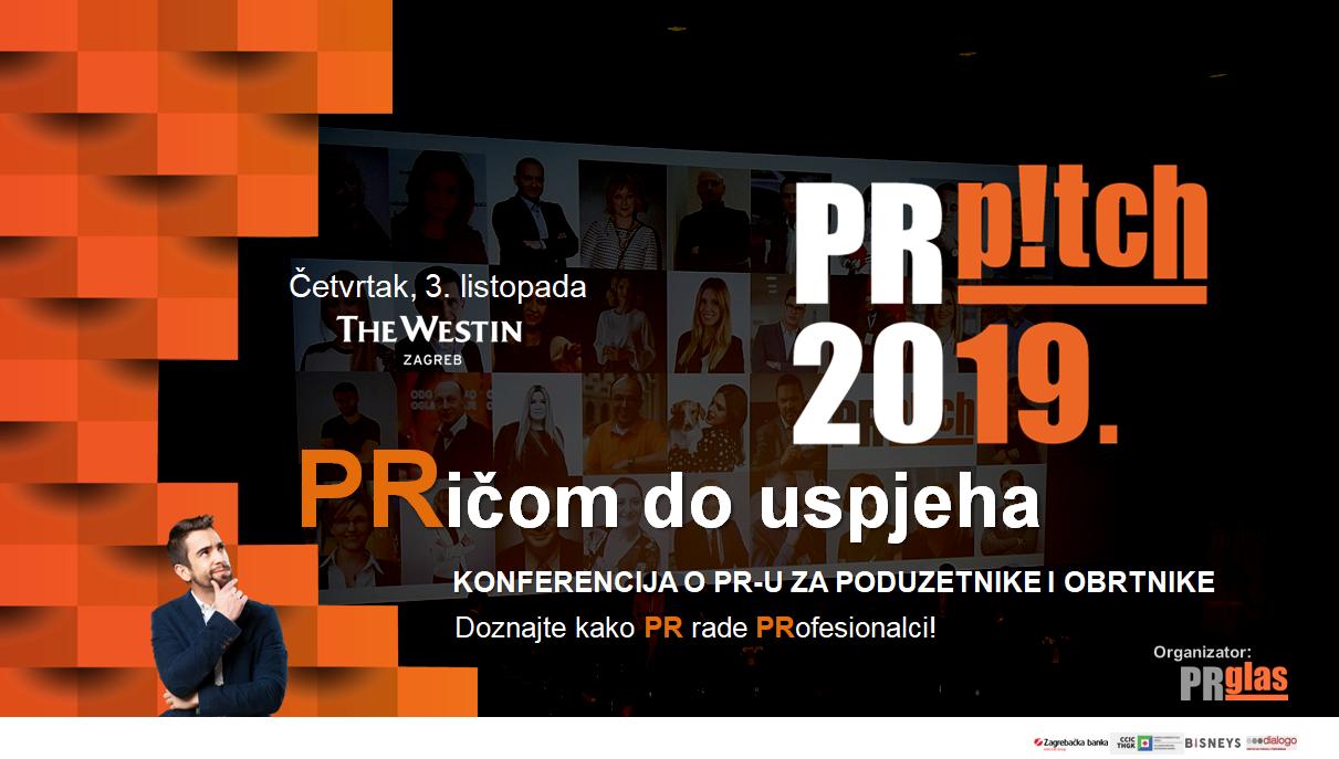 Doznajte kako PR rade PRofesionalci! Uskoro u Zagrebu: PRpitch, 2. konferencija o odnosima s javnošću za poduzetnike i obrtnike