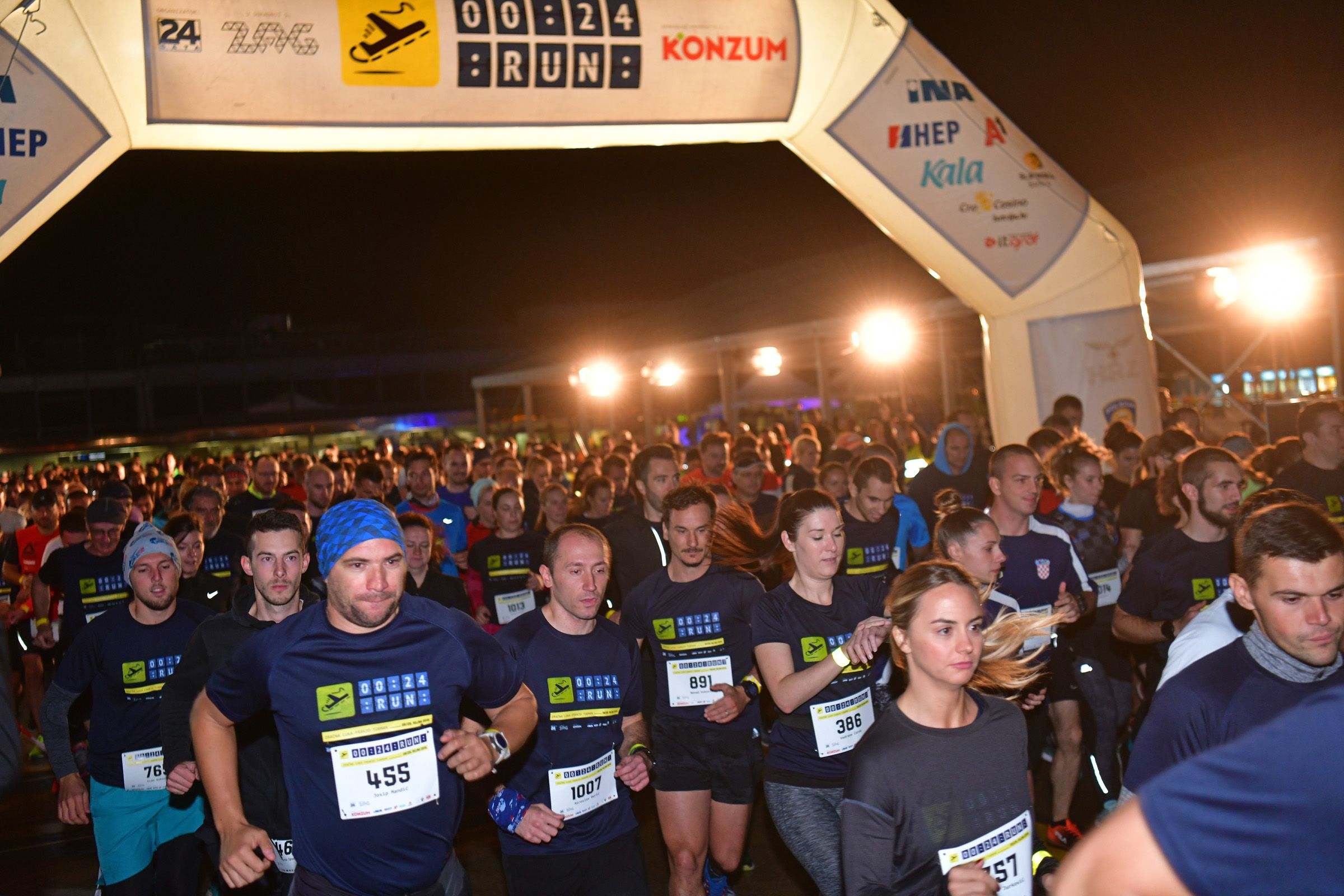 Na utrci 00:24 RUN skupljeno 150 tisuća kuna za odjel onkologije zagrebačkog Rebra