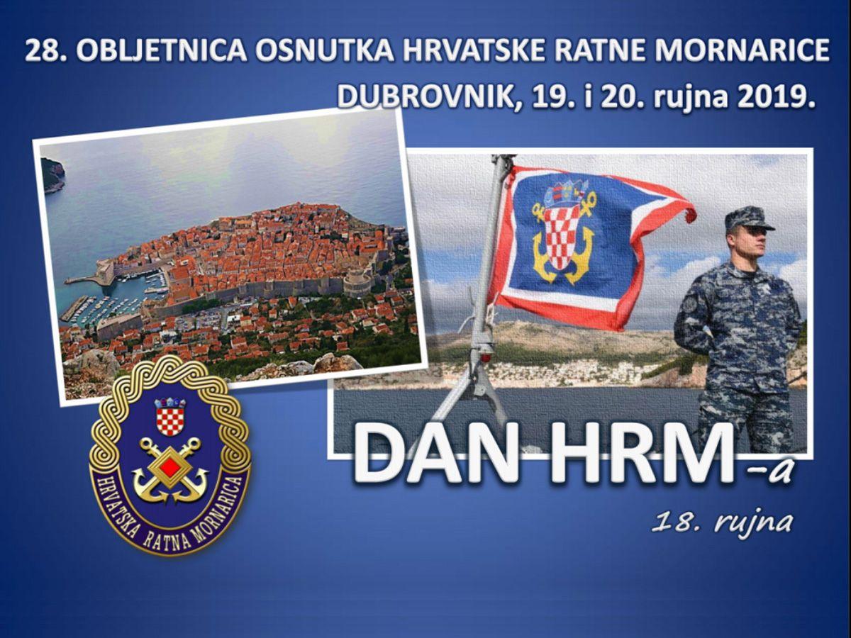 Danas počinju svečanosti obilježavanja 28. obljetnice osnutka Hrvatske ratne mornarice