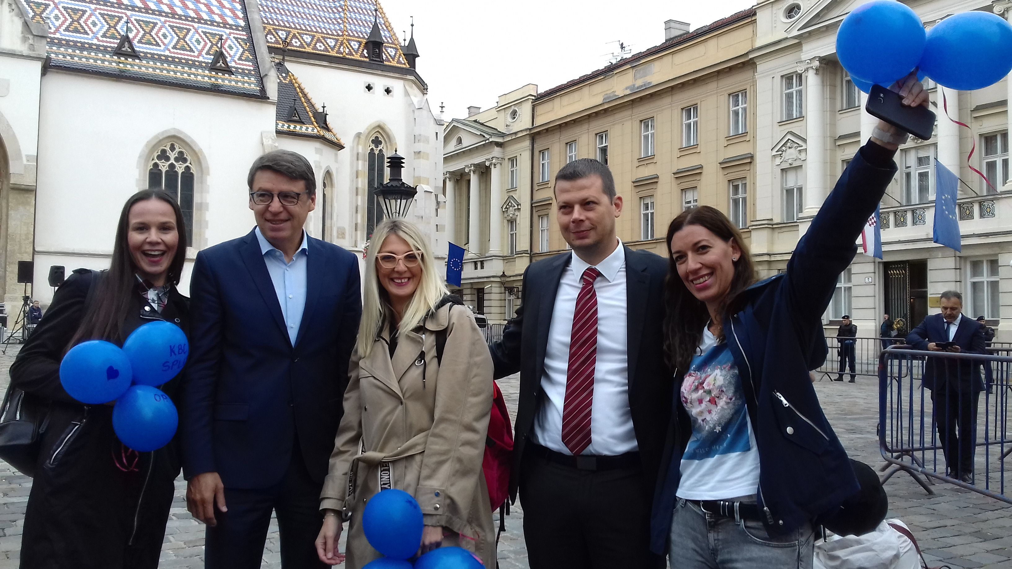 """Željko Jovanović u Saboru podržao prosvjed medicinskih sestara i tehničara: """"Aposlutna podrška prosvjednicima, nadamo se da će uspjeti izboriti svoja prava"""""""