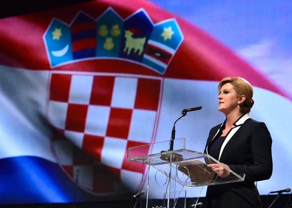 """Predsjednica Grabar-Kitarović uputila čestitku povodom Dana neovisnosti RH: """"Hrvatska je danas država za koju se zna i koju se uvažava"""""""