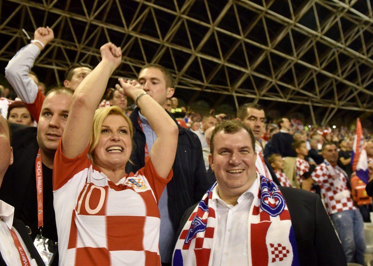 """NAVIJAČICA VATRENIH Predsjednica Grabar-Kitarović komentirala pobjedu Hrvatske: """"Isplatilo se! Ne bih ovo propustila ni za što u životu"""""""