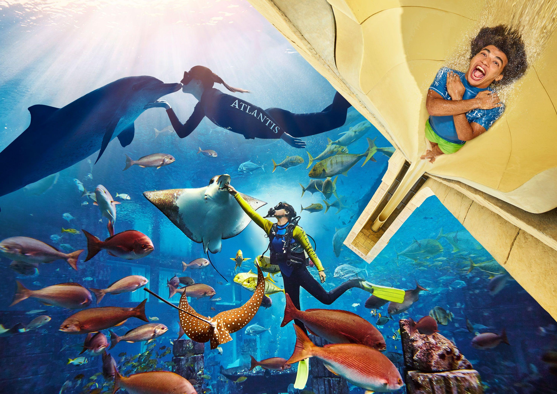 Putnicima Emiratesa besplatan posjet vodenom parku Atlantis Aquaventure i akvariju The Lost Chambers Aquarium u Dubaiju