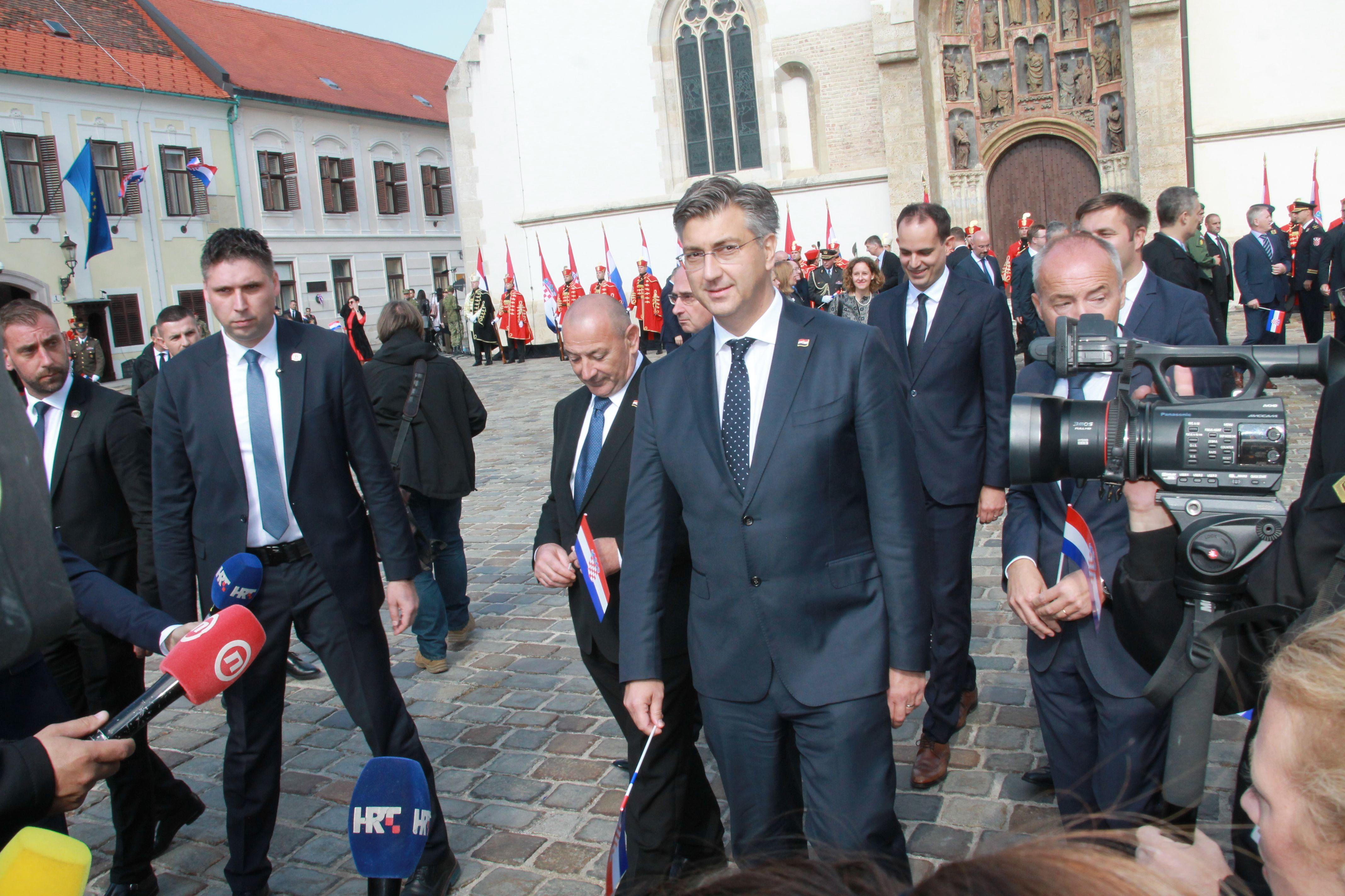 """Plenković: """"Na nama je da Hrvatsku koju imamo uređujemo na dobrobit svih naših sugrađana, da gospodarski bude prosperitetnija, da socijalno bude osjetljiva i uključiva"""""""