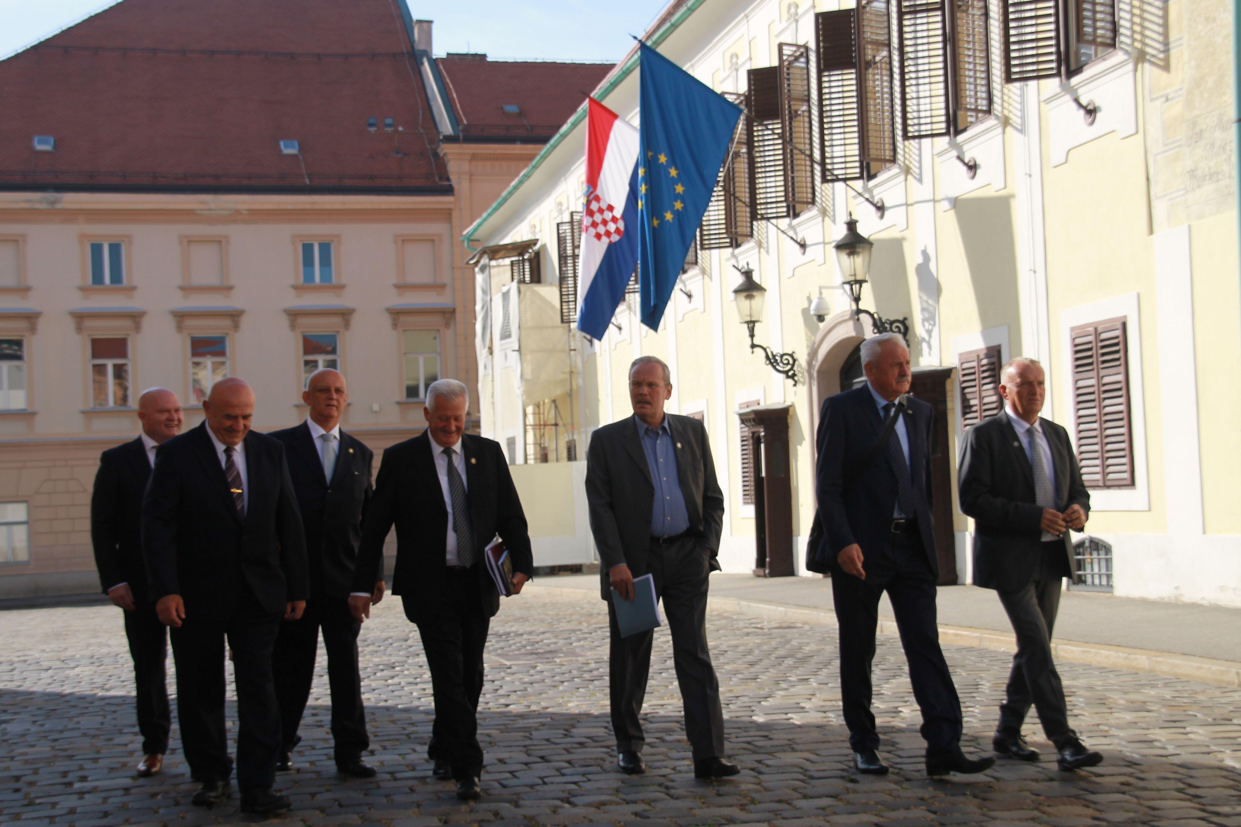 SIGURNOSNA PITANJA: Predstavnici Hrvatskog generalskog zbora danas su se sastali s premijerom Plenkovićem