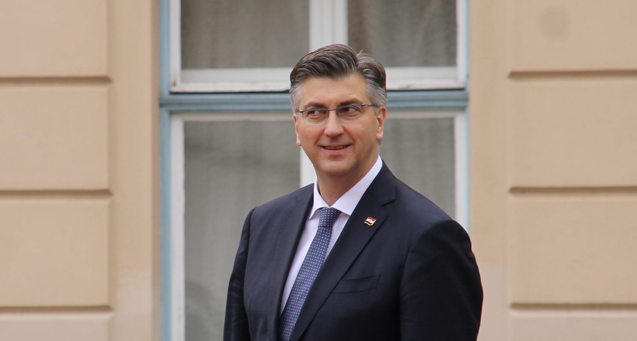 Plenković zadovoljan objavom kandidature Kolinde Grabar-Kitarović