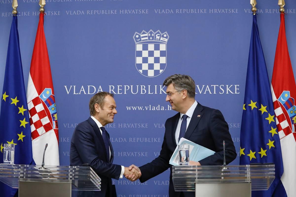 UNIJA PROŠIRENJA: Tusk i Plenković žele vratiti jedinstvo EU-a oko S. Makedonije i Albanije