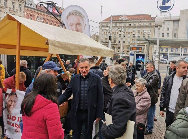 Miroslav Škoro: Neću voditi prljavu kampanju, možda netko pobijedi u prvom krugu